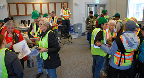 Community Emergency Response Team Volunteers