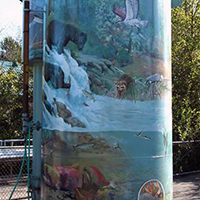Watershed Tower (Mural)
