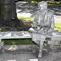 Linda Ruehle Bench (Sculpture)
