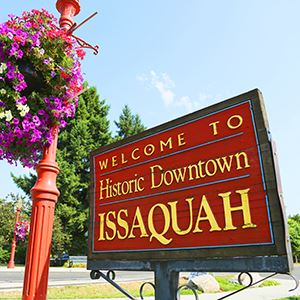Issaquah, Downtown, Sign 2