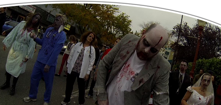 Downtown Issaquah Zombie Walk
