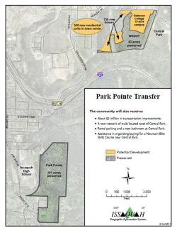 Map of TDR Transfer Sites