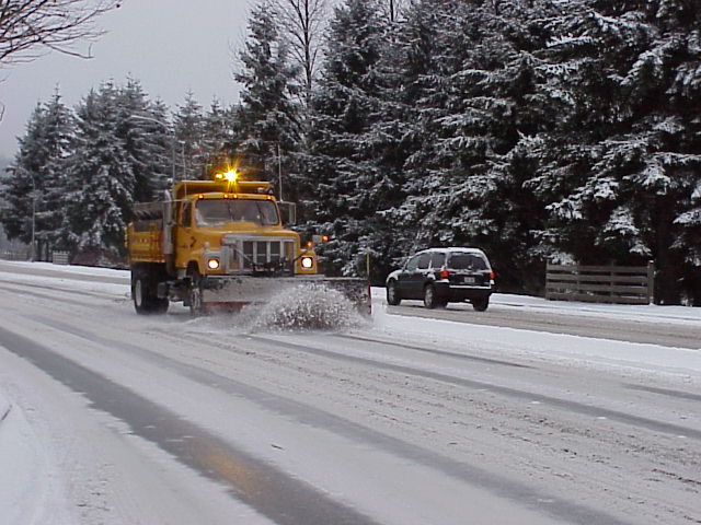 Snow Plow Truck Streets 2