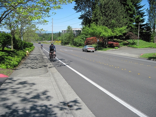 Riding Bikes In Issaquah
