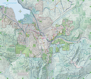 Issaquah WA Official Website Trails Map - Us trails map